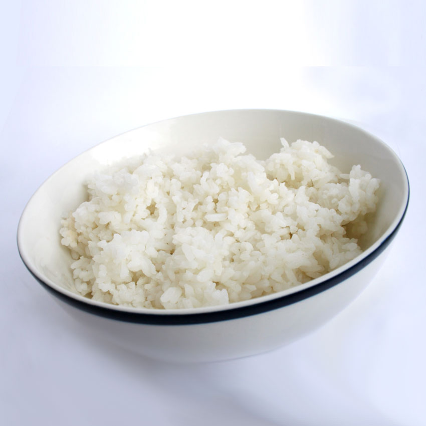 Bowl of white rice 850