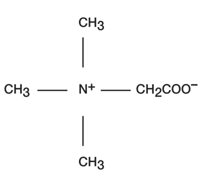 Chemical structure of coco-betaine