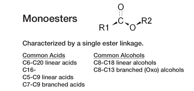 Figure 1. Example monoester: isopropyl palmitate