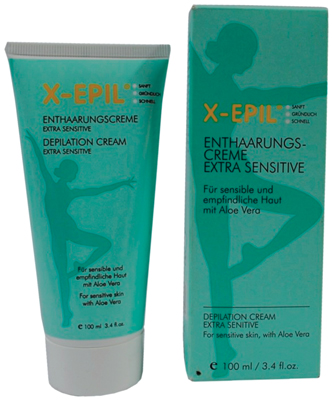 Figure 3. X-Epil Extra Sensitive Depilation Cream