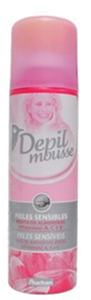 Figure 6. Auchan Depil Mousse Piels Sensibles (Hair Removing Mousse for Sensitive Skin)