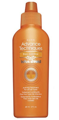 Figure 2. Avon Advance Techniques Frizz Control Lotus Shield Anti-frizz Treatment