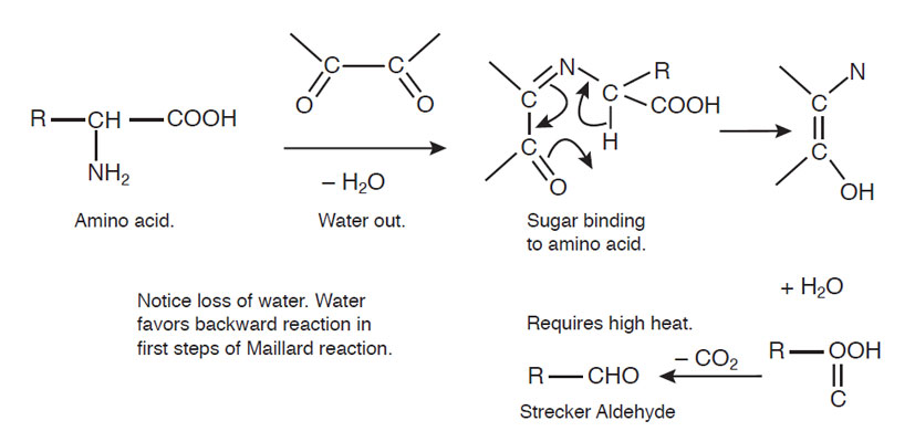 Figure 6. Strecker reaction