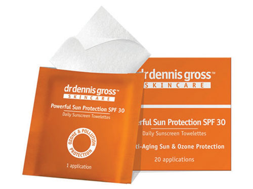 Figure 2. Dr. Dennis Gross Skincare Powerful Sun Protection SPF 30 Towelettes
