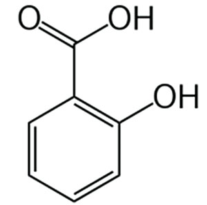 Figure 1. Structure of salicylic acid