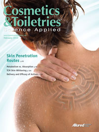Cosmetics &amp; Toiletries February 2013 Cover