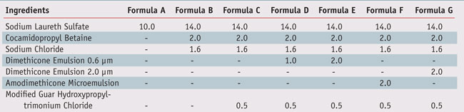 Table 1.  Model formulations used in the present article