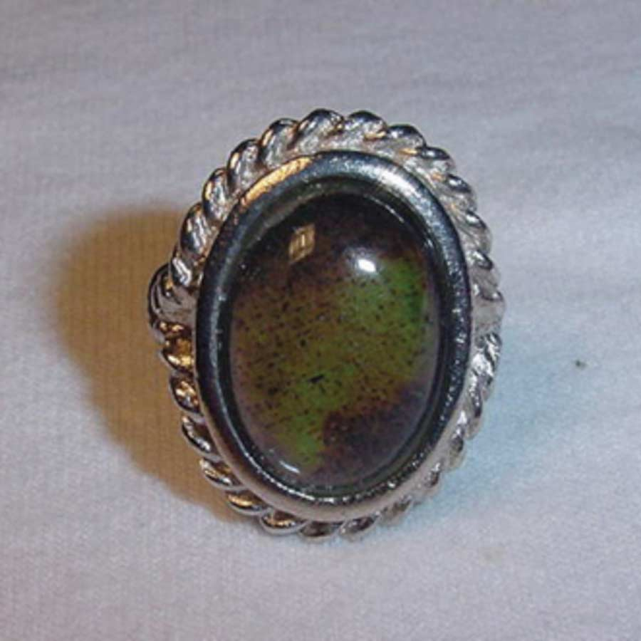 Figure 2. Mood ring; note the color change