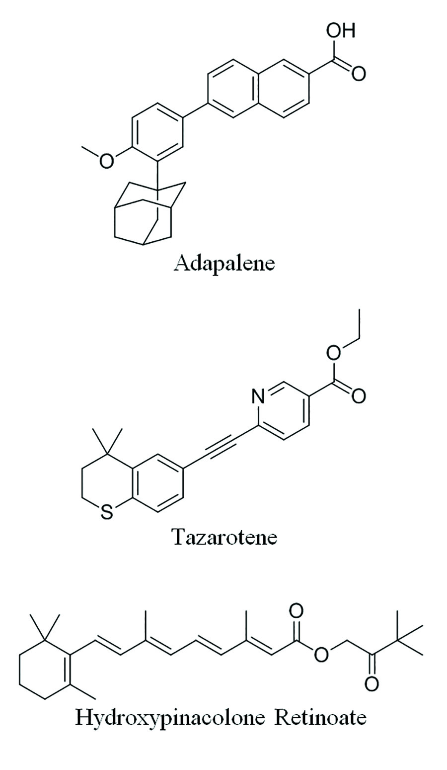 Figure 3. Synthetic retinoid derivatives that exhibit enhanced properties