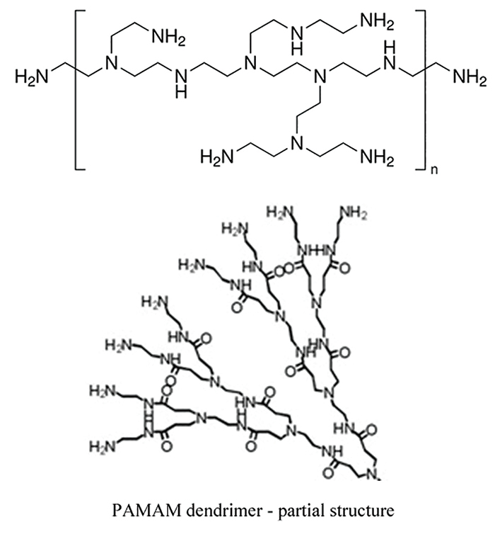 Figure 5. PAMAM dendrimers and their surface-modified derivatives