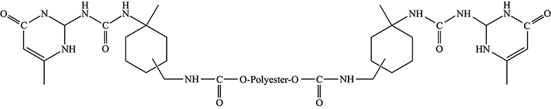 Figure 4. The sebacate/terephthalate copolymer of neopentylglycol