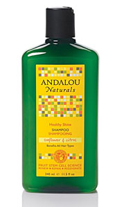 Andalou Naturals Healthy Shine Sunflower & Citrus Shampoo