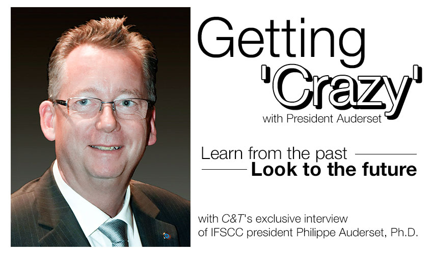 Getting 'Crazy' with President Auderset