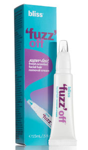 Bliss 'Fuzz' Off Facial Hair Removal Cream