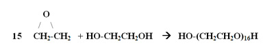 The polymerization of ethylene oxide