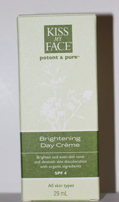 Kiss My Face Brightening Day Crème Front