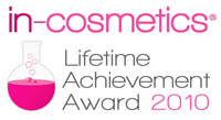 In-Cosmetics Lifetime Achievement Award
