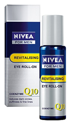Nivea for Men Q10 Revitalizing Eye Roller Gel