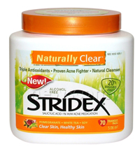 Stridex Naturally Clear