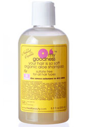 Treat O'My Goodness Your Hair Is So Soft Sulfate Free Organic Aloe Shampoo