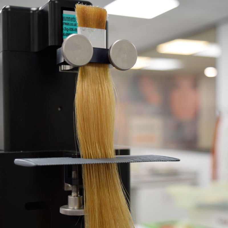 A Diastron MTT175 with Combing Attachment provided by Lonza