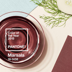 Robust, Earthy Red Pantones 2015 Color of the Year
