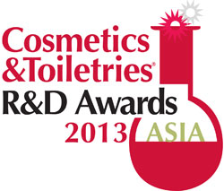 Cosmetics & Toiletries R&D Awards 2013-Asia