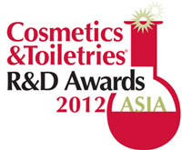 Logo for Cosmetics & Toiletries R&D Awards--Asia