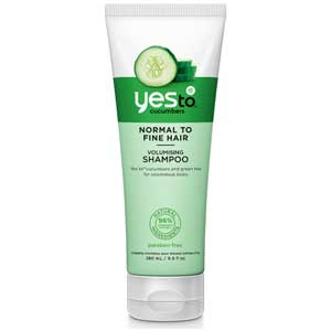 Read the Label: Yes to Cucumbers Volumising Shampoo