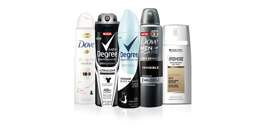 New Technology Taking Over Unilever Deodorant Brands