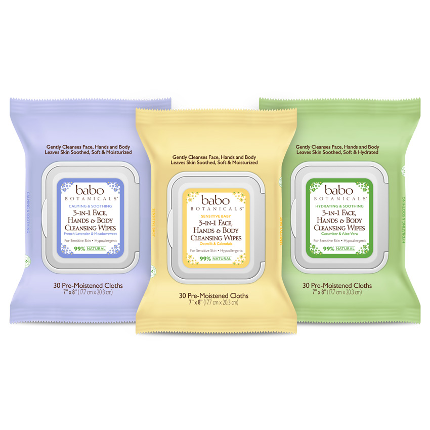 3-in-1 Multi-Tasking Cleansing Wipes