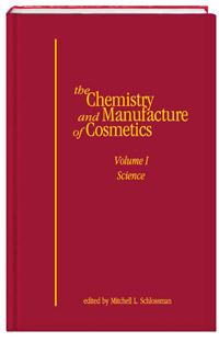 The Chemistry and Manufacture of Cosmetics - Volume I, Science cover