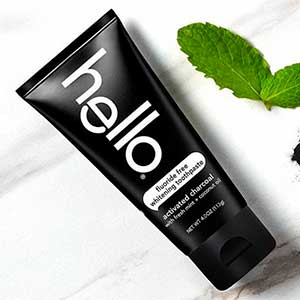 Hellos Activated Charcoal Fluoride-free Whitening Toothpaste