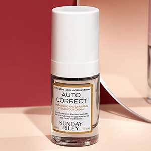 Sunday Riley's Auto Correct Brightening and Depuffing Eye Contour Cream